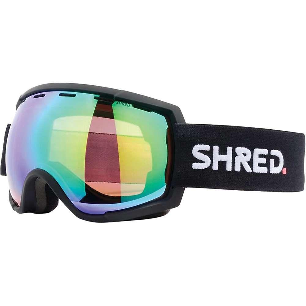 シュレッド Shred ユニセックス スキー・スノーボード ゴーグル【Rarify Snow Goggles】Black CBL/Plasma Mirror