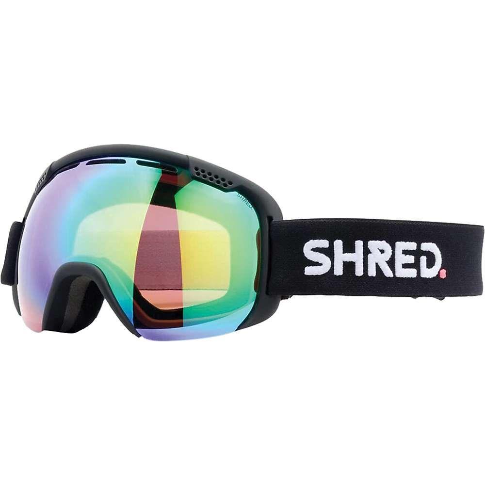 シュレッド Shred ユニセックス スキー・スノーボード ゴーグル【Smartefy Snow Goggles】Black CBL/Plasma Mirror