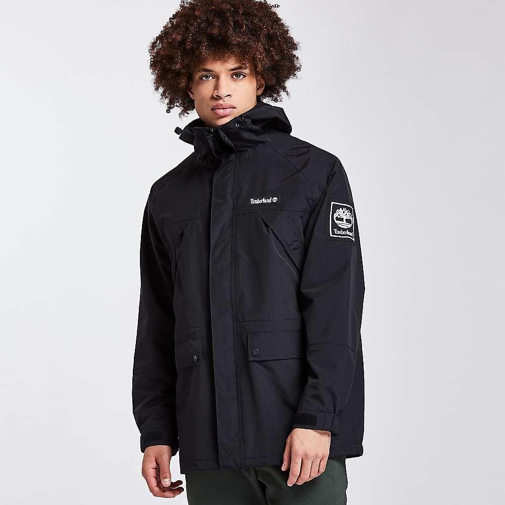 ティンバーランド Timberland Apparel メンズ ジャケット アウター【Timberland Outdoor Archive Weatherbreaker Jacket】Black