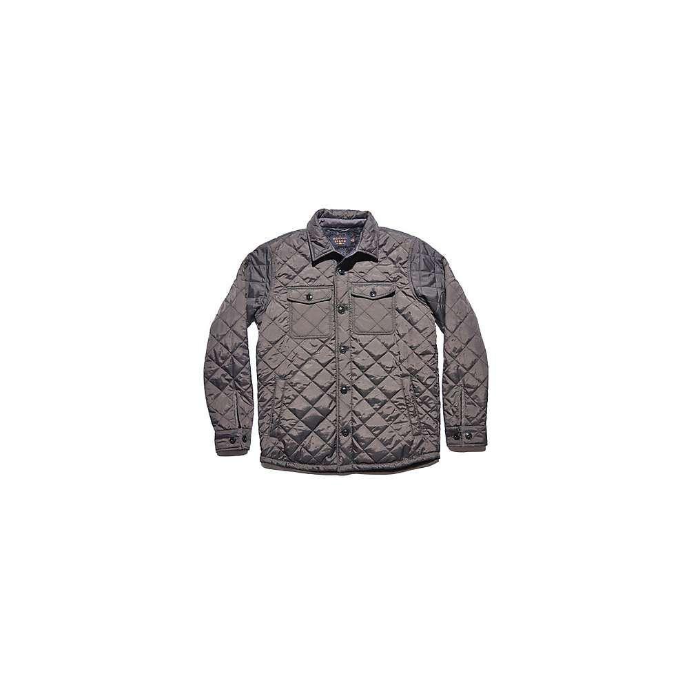 ノーマルブランド The Normal Brand メンズ ジャケット シャツジャケット アウター【Quilted Sherpa Lined Shacket】Charcoal