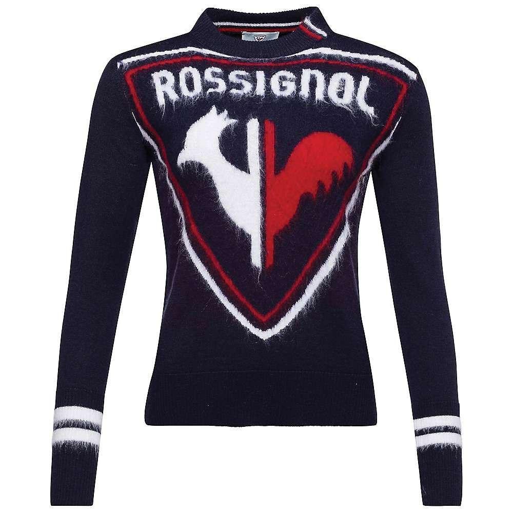 ロシニョール Rossignol レディース ニット・セーター トップス【Hiver Knit Sweater】Dark Navy