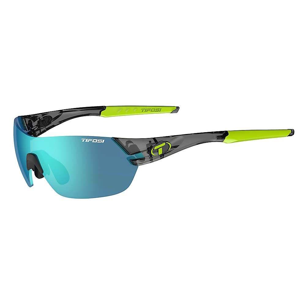 ティフォージ Tifosi Optics メンズ スポーツサングラス 【Tifosi Slice Interchangeable Sunglasses】Crystal Smoke/Clarion Blue/AC Red/Clear
