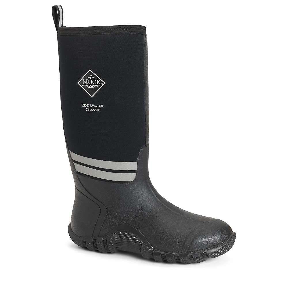 マックブーツ Muck Boots メンズ レインシューズ・長靴 シューズ・靴【Muck Edgewater Boot】Black