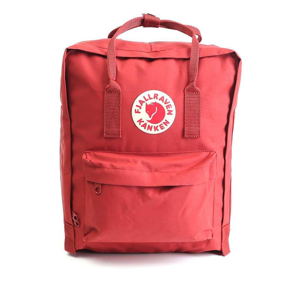 フェールラーベン Fjallraven ユニセックス バックパック・リュック カンケン バッグ【Kanken Backpack】Deep Red