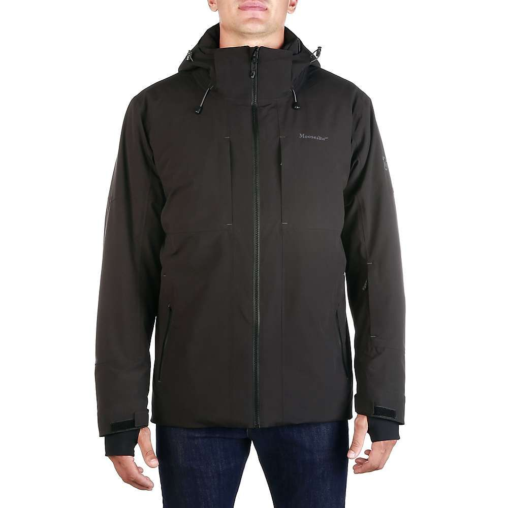 ムースジョー Moosejaw メンズ ジャケット アウター【Mt. Elliott Insulated Waterproof Jacket】Black/Black