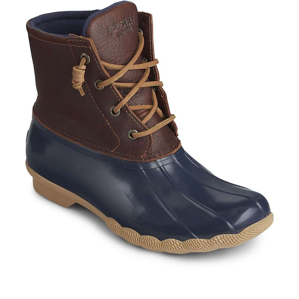スペリー Sperry レディース ブーツ シューズ・靴【Saltwater Boot】Tan/Navy