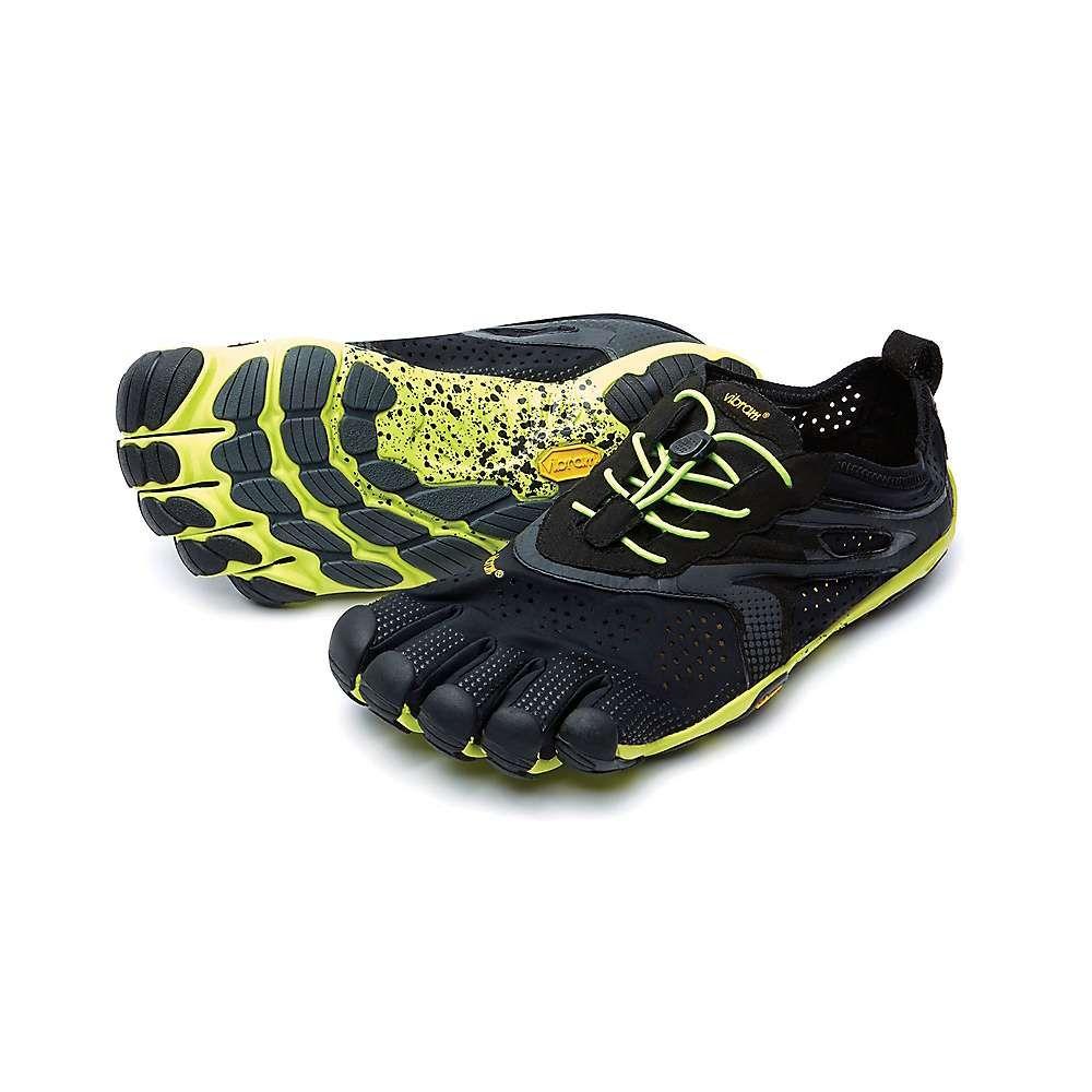 ビブラムファイブフィンガーズ Vibram Five Fingers メンズ ランニング・ウォーキング シューズ・靴【V-Run Shoe】Black/Yellow