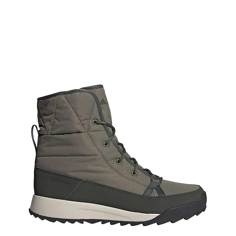 アディダス Adidas レディース ブーツ シューズ・靴【Terrex Choleah Padded CP Boot】Raw Khaki/Legend Earth/Semi Coral