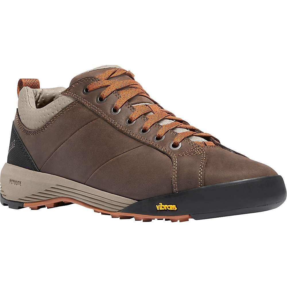ダナー Danner メンズ ハイキング・登山 シューズ・靴【Camp Sherman 3IN Shoe】Dark Brown/Orange