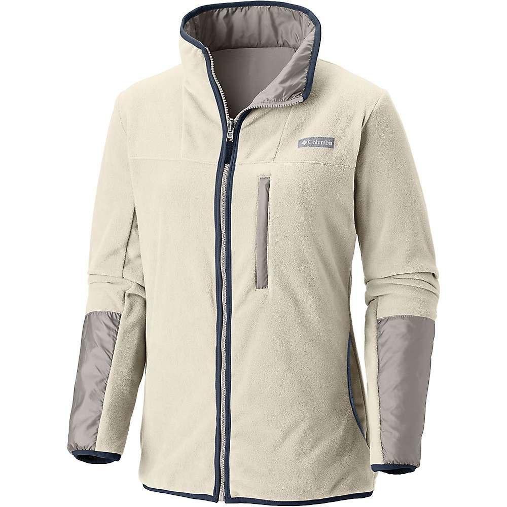 コロンビア Columbia レディース フリース マウンテンジャケット トップス【Mountain Side Reversible Fleece Jacket】Light Cloud