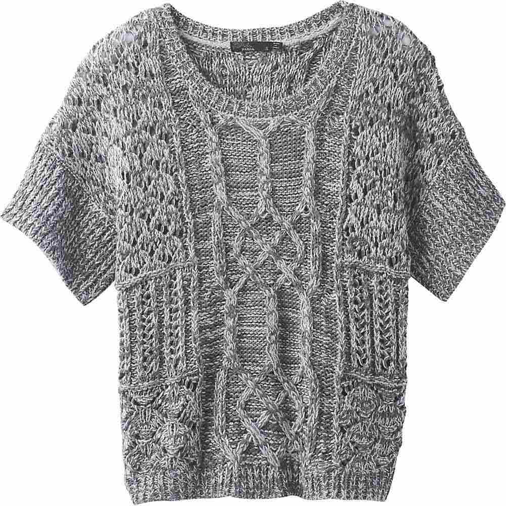 プラーナ Prana レディース ニット・セーター トップス【Patchwork Sweater】Gravel