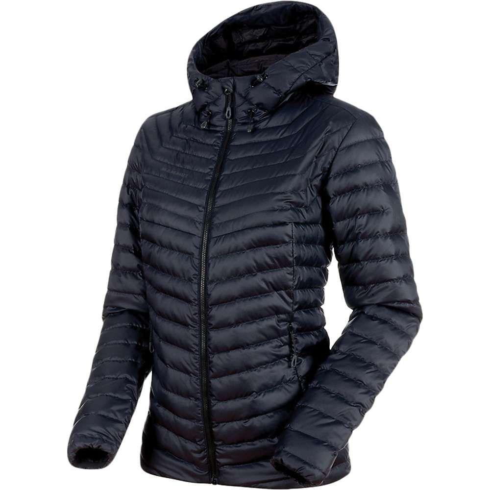マムート Mammut レディース スキー・スノーボード フード ジャケット アウター【Convey IN Hooded Jacket】Black/Phantom