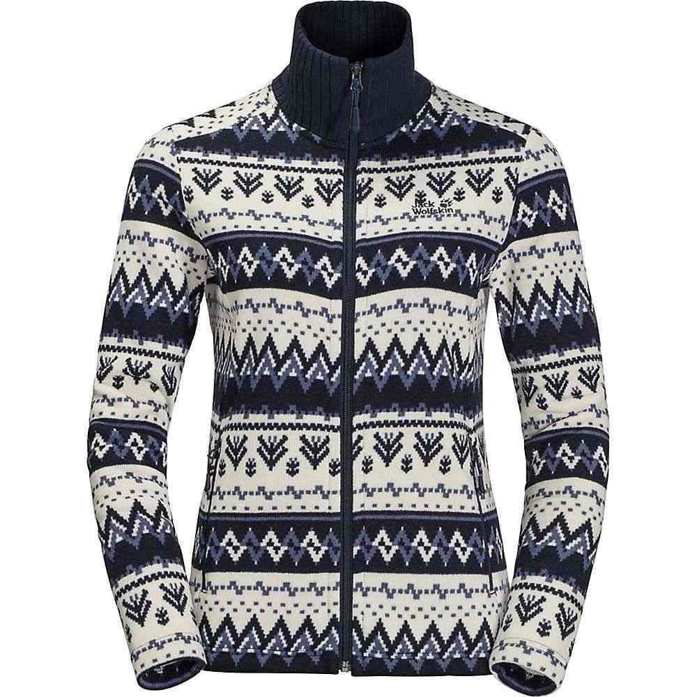 ジャックウルフスキン Jack Wolfskin レディース ジャケット アウター【Nordic Jacket】Midnight Blue All Over