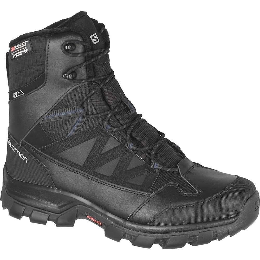 サロモン Salomon メンズ ハイキング・登山 ブーツ シューズ・靴【Chalten TS CS Waterproof Boot】Black/Black/Sargasso Sea