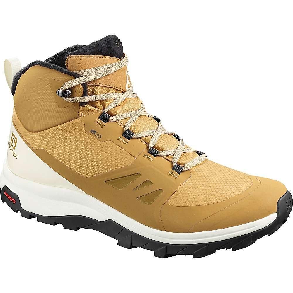 サロモン Salomon メンズ ハイキング・登山 ブーツ シューズ・靴【Outsnap CS Waterproof Boot】Bistre/Vanilla Ice/Black