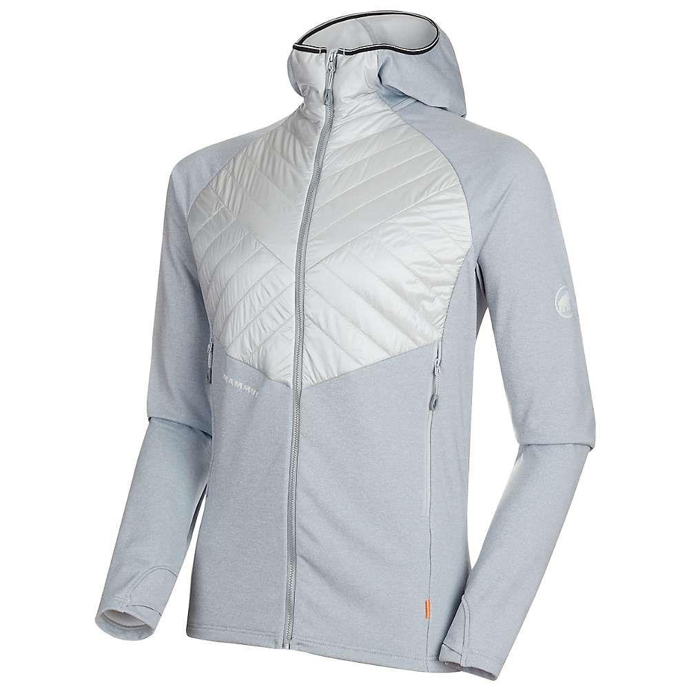マムート Mammut メンズ スキー・スノーボード フード ジャケット アウター【Aconcagua Light Hybrid ML Hooded Jacket】Highway