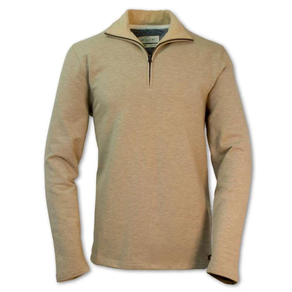 パーネル Purnell メンズ フリース トップス【Monarch Half-Zip Fleece Pullover】Oatmeal