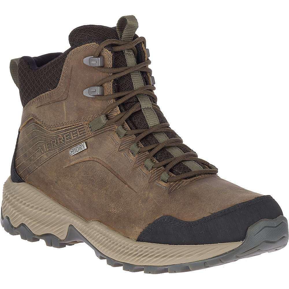 メレル Merrell メンズ ハイキング・登山 ブーツ シューズ・靴【Forestbound Mid Waterproof Boot】Cloudy