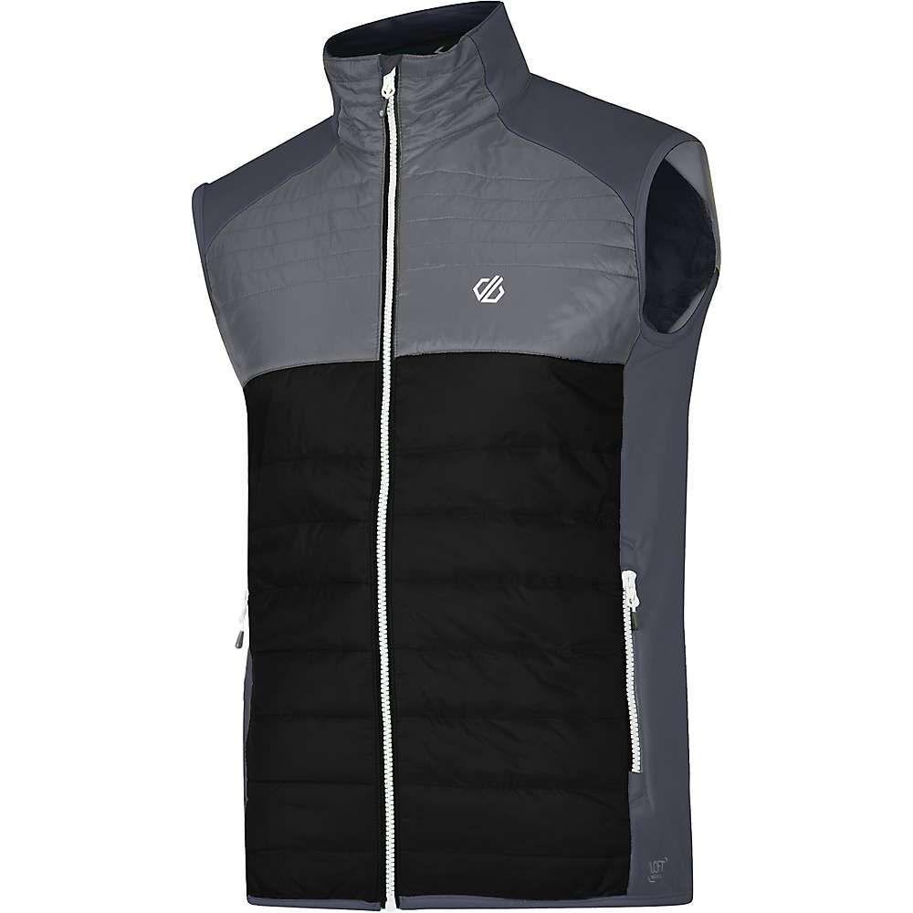 デア トゥビー Dare 2B メンズ ベスト・ジレ トップス【Coordinate Wool Vest】Black/Aluminium Grey/Ebony Grey