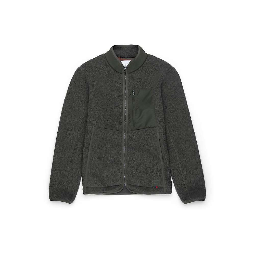 ハーシェル サプライ Herschel Supply Co メンズ フリース トップス【Sherpa Full Zip】Dark Olive