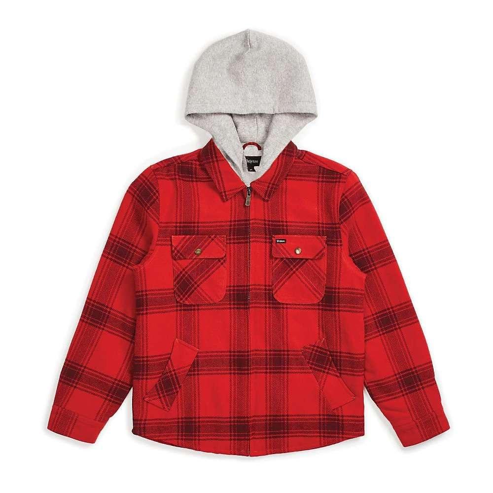 ブリクストン Brixton メンズ ジャケット アウター【Bowery Jacket】Red/Black