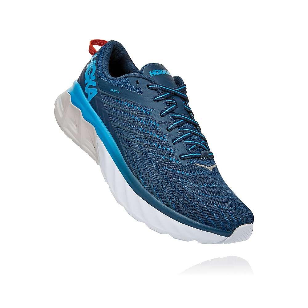 ホカ オネオネ Hoka One One メンズ ランニング・ウォーキング シューズ・靴【Arahi 4 Shoe】Majolica Blue/Dresden Blue