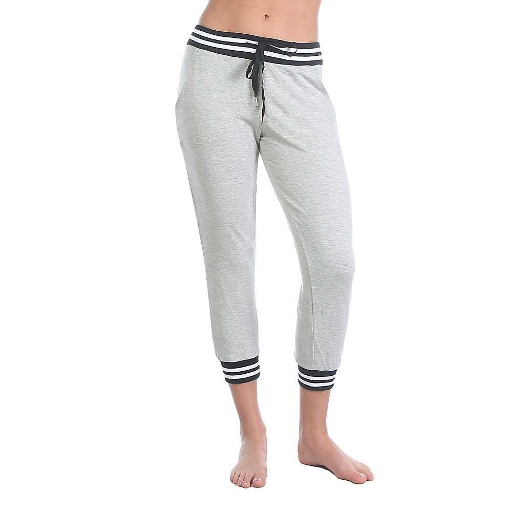 ビヨンドヨガ Beyond Yoga レディース スウェット・ジャージ ボトムス・パンツ【Varsity Cropped Sweatpant】Light Heather Grey