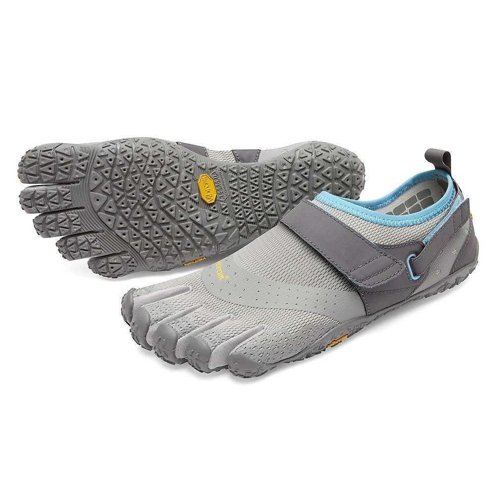 ビブラムファイブフィンガーズ Vibram Five Fingers レディース ランニング・ウォーキング シューズ・靴【V-Aqua Shoe】Grey/Blue