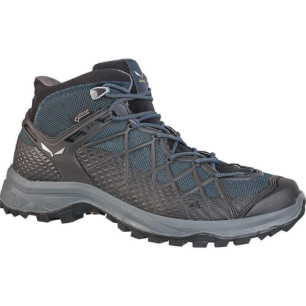 サレワ Salewa メンズ ハイキング・登山 シューズ・靴【Wild Hiker Mid GTX Shoe】Black Out/Silver