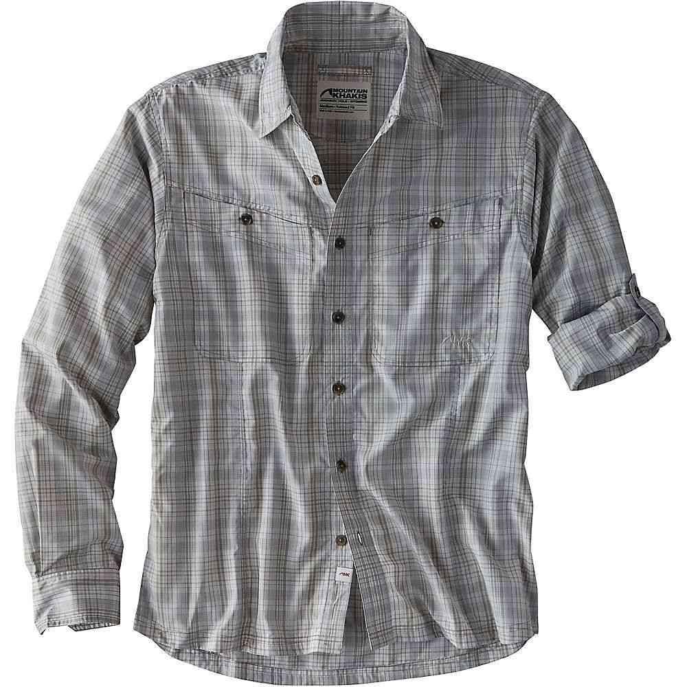 マウンテンカーキス Mountain Khakis メンズ シャツ トップス【Trail Creek LS Shirt】Smoke Plaid