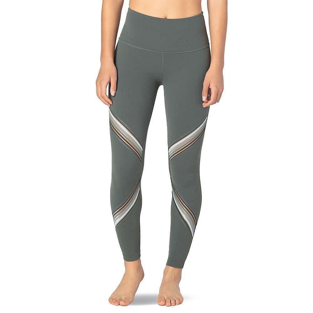 ビヨンドヨガ Beyond Yoga レディース ヨガ・ピラティス スパッツ・レギンス ボトムス・パンツ【Get Your Filament High Waisted Long Legging】Dark Topic