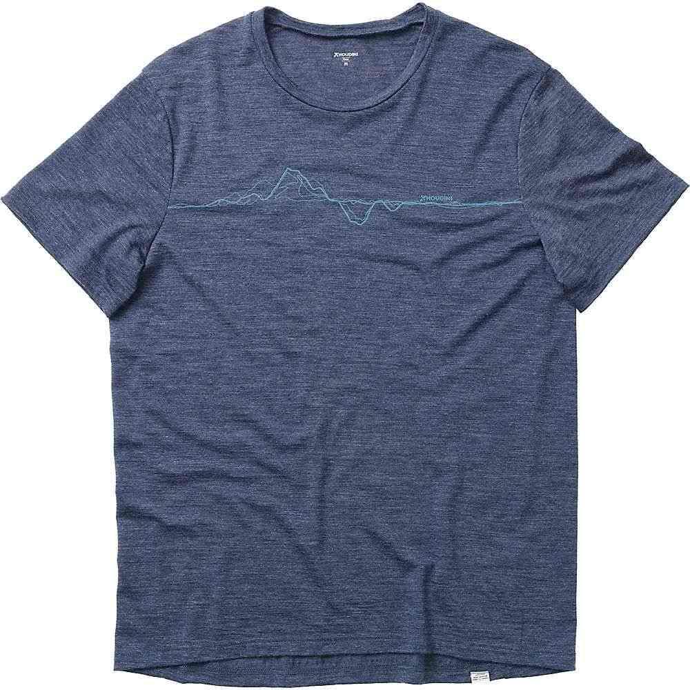 フーディニ Houdini メンズ Tシャツ トップス【Activist Message Tee】Bucket Blue