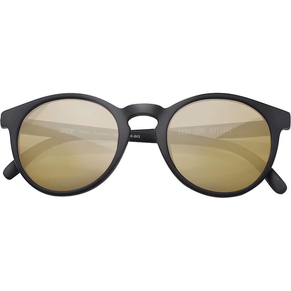 サンスキ Sunski ユニセックス メガネ・サングラス 【Dipsea Sunglasses】Black/Gold