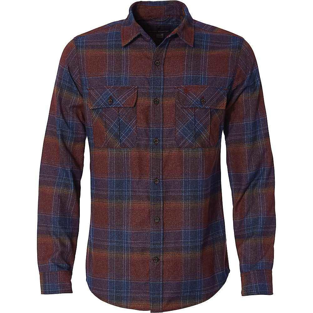 ロイヤルロビンズ Royal Robbins メンズ シャツ フランネルシャツ トップス【Lost Coast Flannel Plaid LS Shirt】Cedar