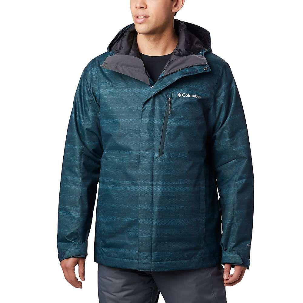 コロンビア Columbia メンズ スキー・スノーボード ジャケット アウター【Whirlibird IV Interchange Jacket】Night Shadow Heather Stripe Print
