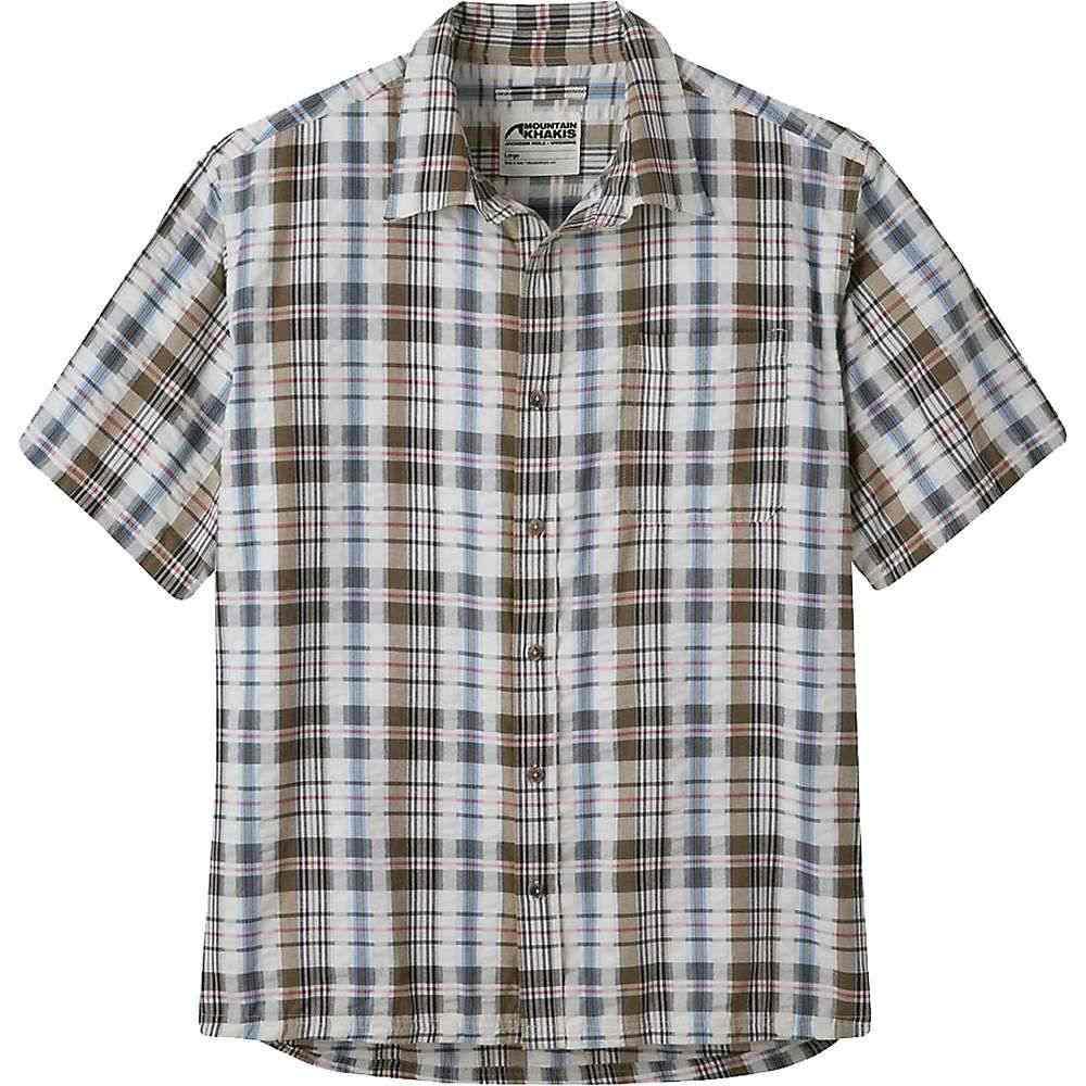 マウンテンカーキス Mountain Khakis メンズ 半袖シャツ トップス【Crags EC Crinkle SS Shirt】Firma