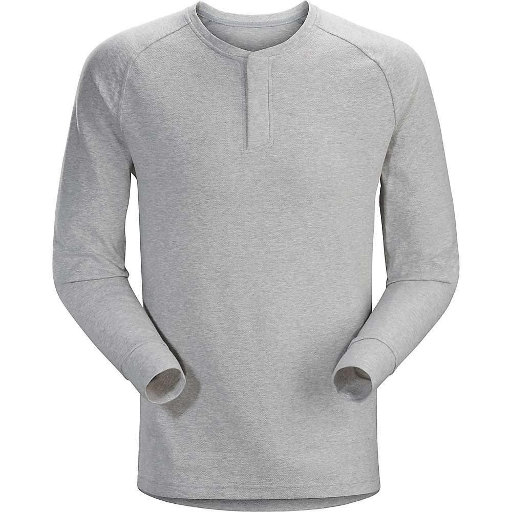 アークテリクス Arcteryx メンズ 長袖Tシャツ ヘンリーシャツ トップス【Sirrus LS Henley】Delos Grey Heather