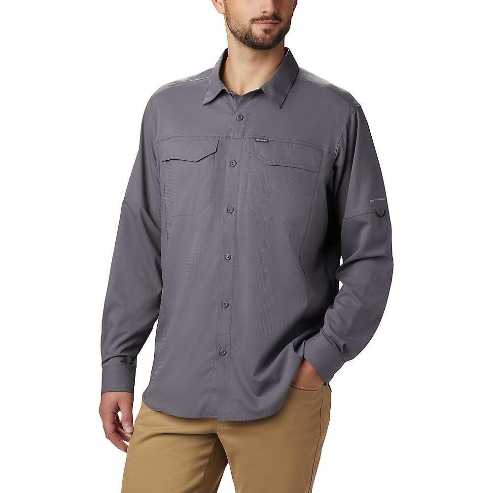コロンビア Columbia メンズ シャツ トップス【Silver Ridge Lite Long Sleeve Shirt】City Grey