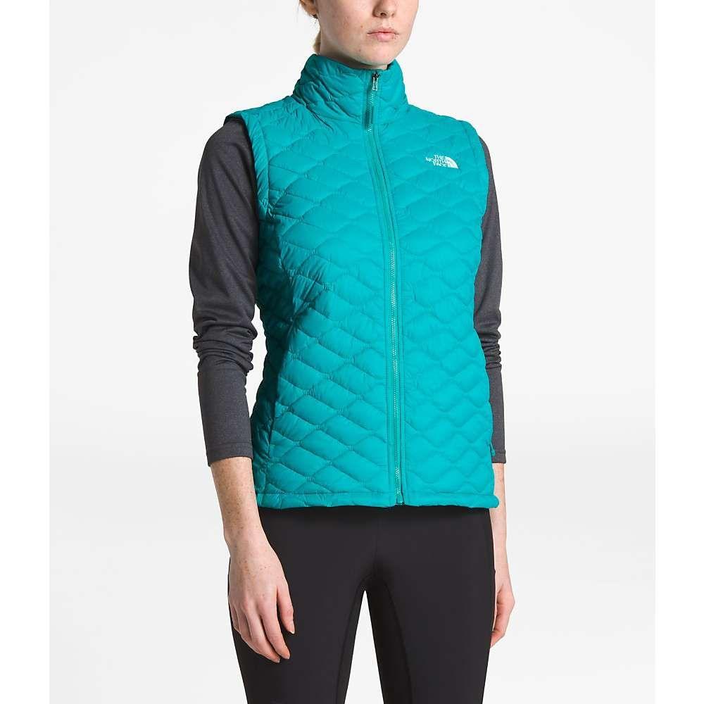 ザ ノースフェイス The North Face レディース スキー・スノーボード ベスト・ジレ アウター【ThermoBall Vest】Kokomo Green Matte