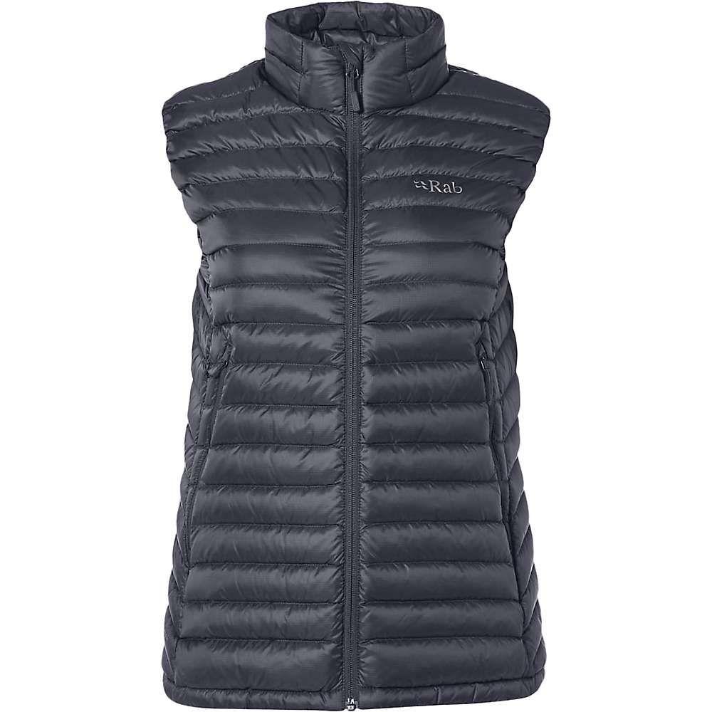 ラブ Rab レディース ベスト・ジレ トップス【Microlight Vest】Steel/Passata