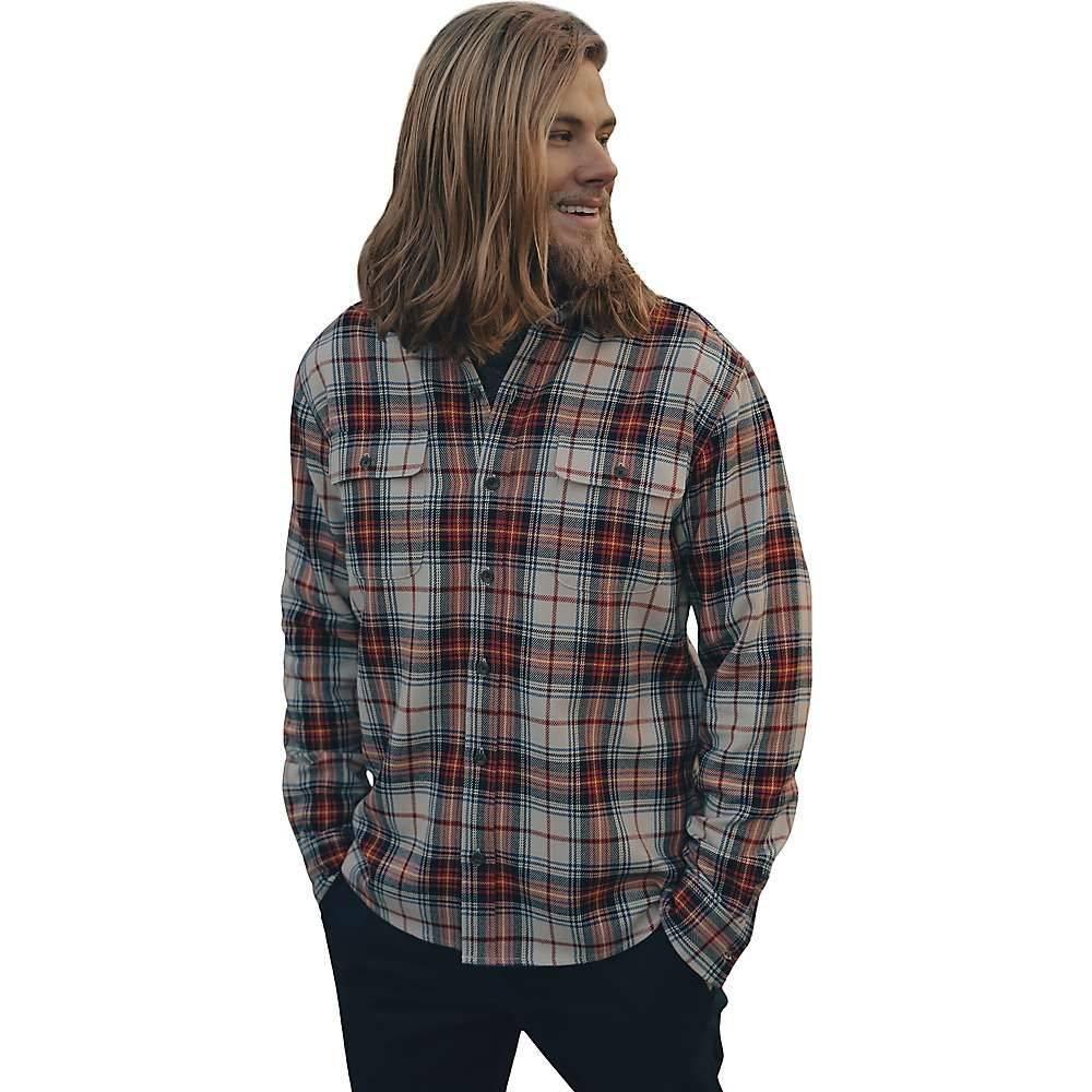 ノーマルブランド The Normal Brand メンズ シャツ オーバーシャツ トップス【Jimbo Double Pocket Overshirt】Stone Plaid