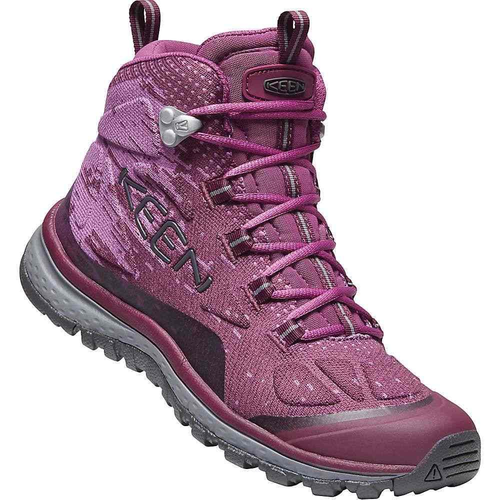 キーン Keen レディース ハイキング・登山 ブーツ シューズ・靴【Terradora EVO Mid Boot】Grape Wine/Grape Kiss