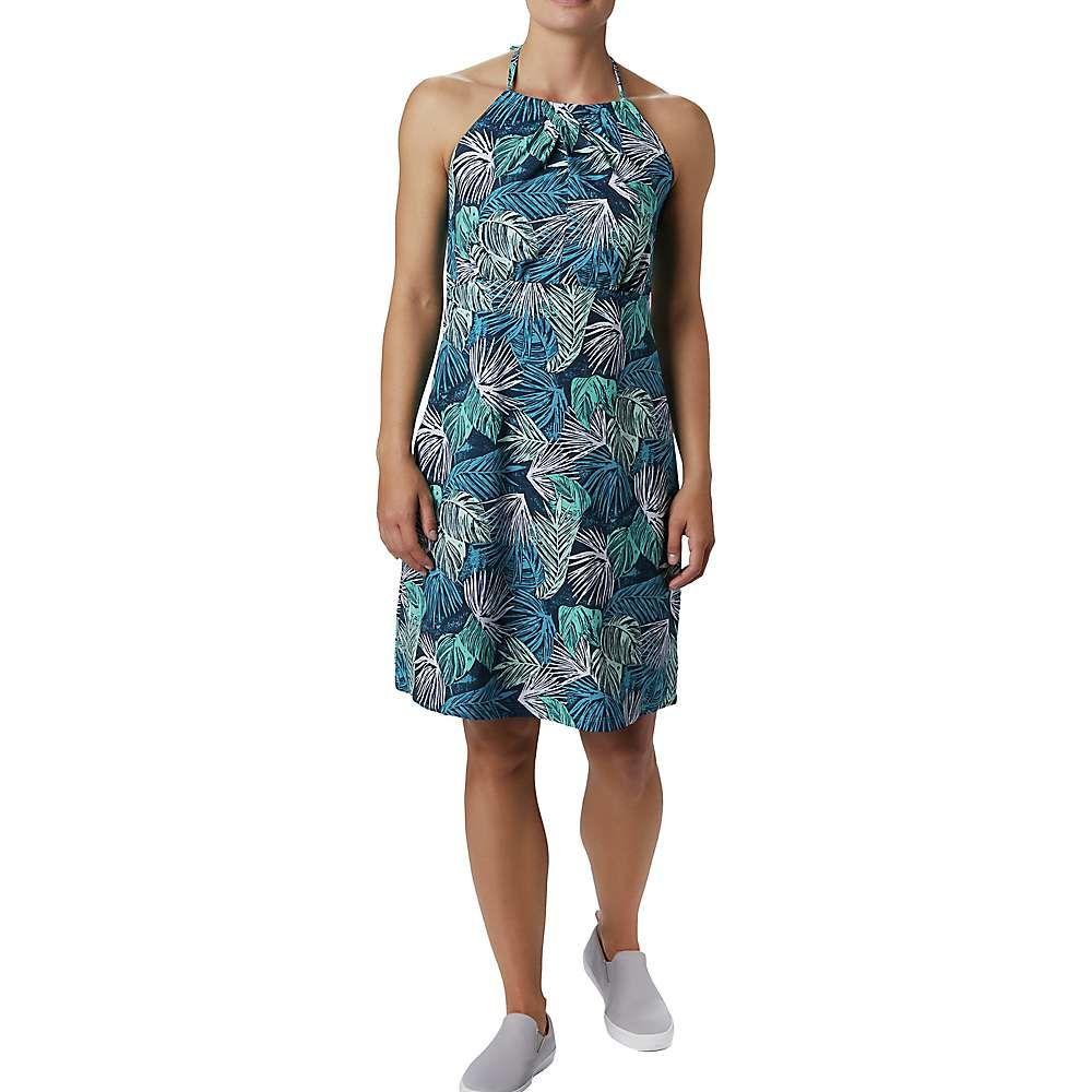 コロンビア Columbia レディース ワンピース ワンピース・ドレス【Armadale II Halter Top Dress】Dolphin Feathery Leaves Print