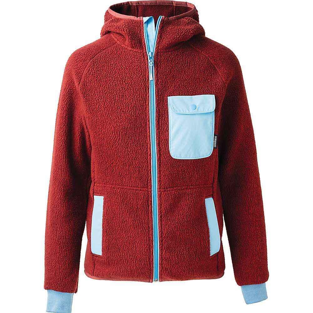 コトパクシ Cotopaxi メンズ フリース フード トップス【Cubre Hooded Full Zip Fleece Jacket】Brick/Sky