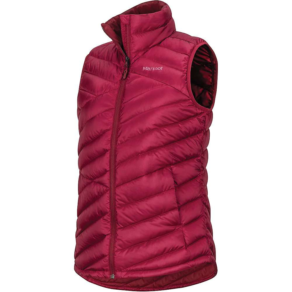 マーモット Marmot レディース ベスト・ジレ トップス【Highlander Vest】Claret