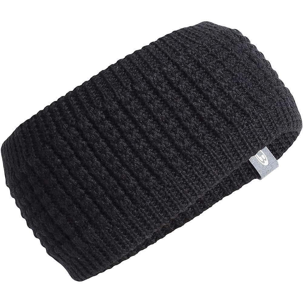 アイスブレーカー Icebreaker ユニセックス ヘアアクセサリー ヘッドバンド【Affinity Headband】Black