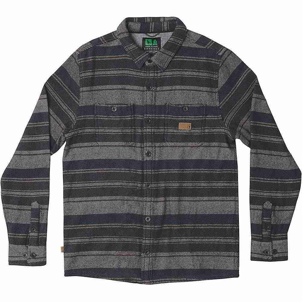 ヒッピーツリー HippyTree メンズ シャツ トップス【Granada Burly Shirt】Grey