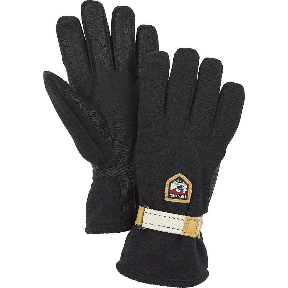 ヘスタ Hestra ユニセックス スキー・スノーボード グローブ【Windstopper Tour Glove】Black