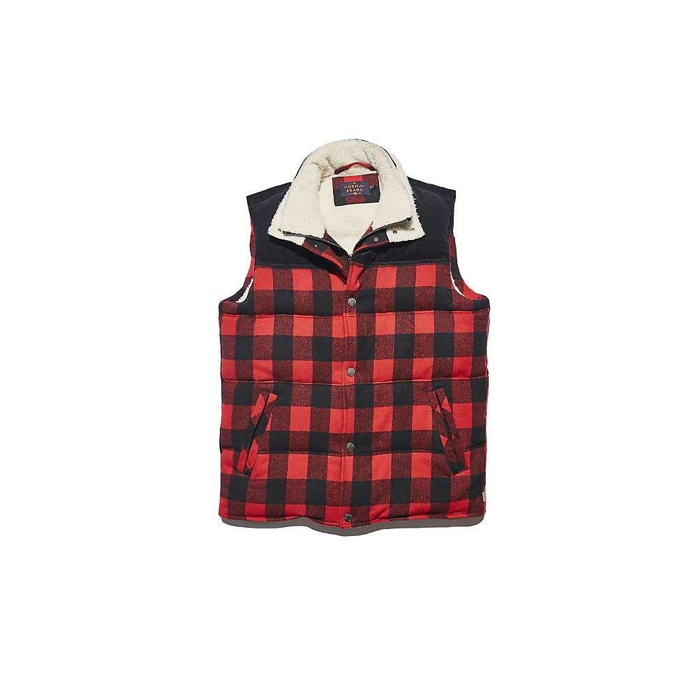 ノーマルブランド The Normal Brand メンズ ベスト・ジレ トップス【Buffalo Sherpa Vest】Red