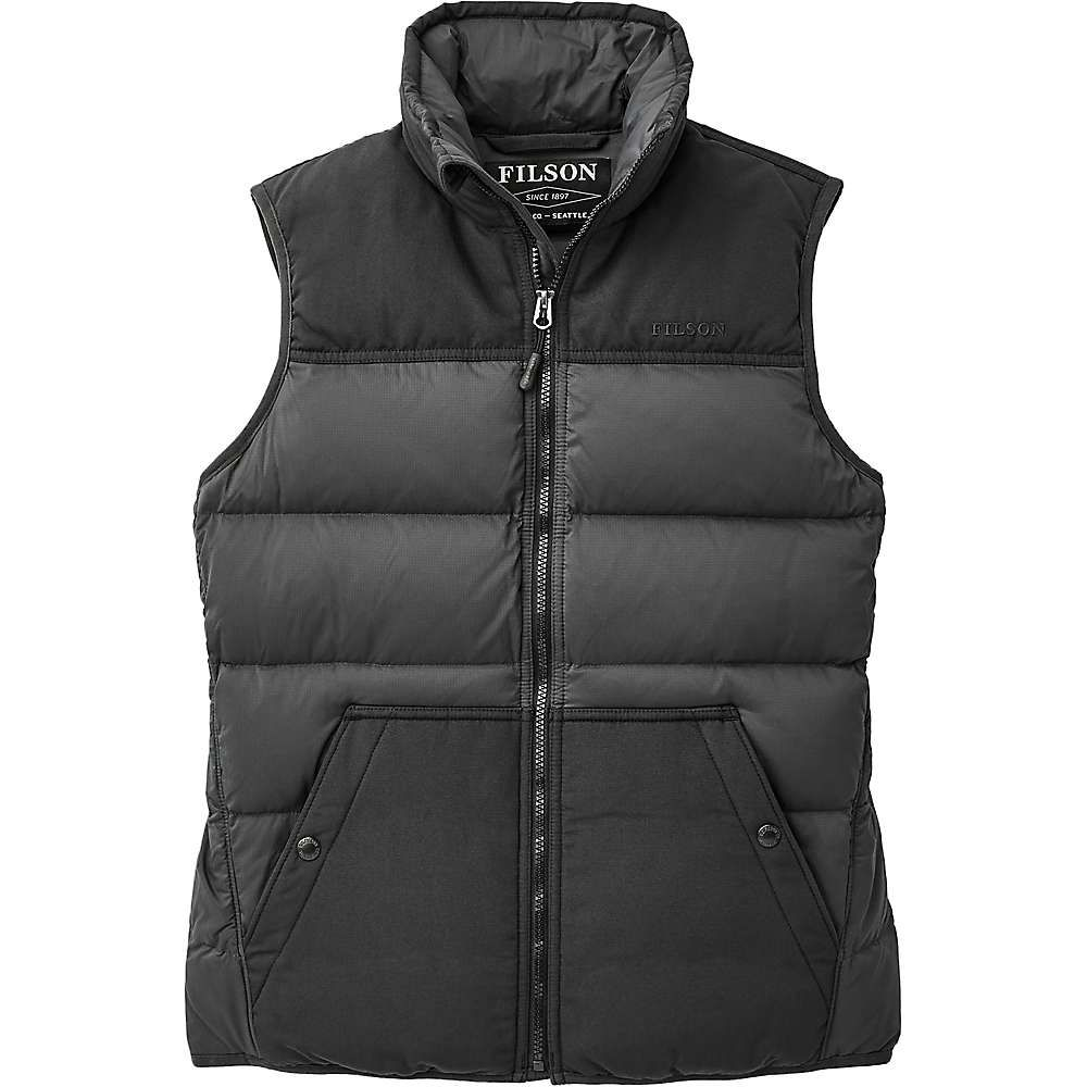 フィルソン Filson レディース ベスト・ジレ ダウンベスト トップス【Featherweight Down Vest】Faded Black